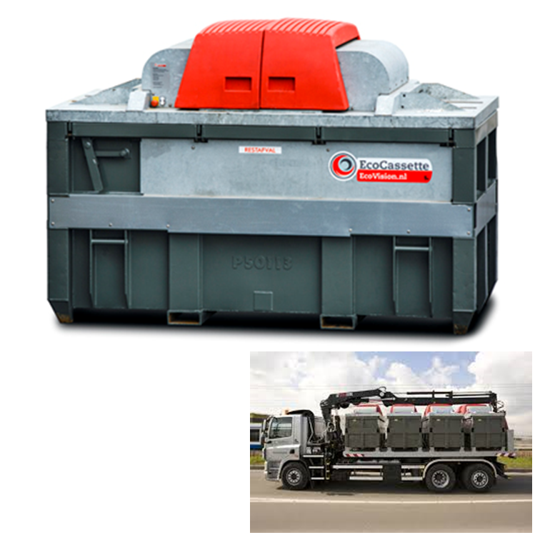 maquinas recicladoras ecovision