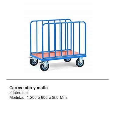 ENGMETAL CARROS TUBO Y MALLA Malla 2 laterales