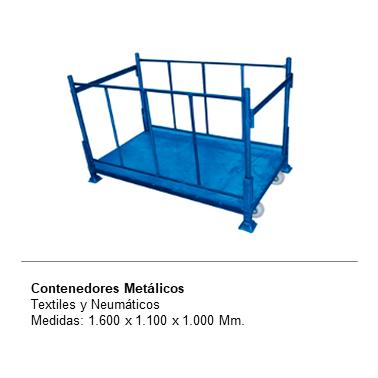 ENGMETAL Contenedores Metalicos, textiles y neumaticos