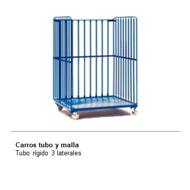 ENGMETAL CARROS TUBO Y MALLA Tubo Rigido 3 laterales